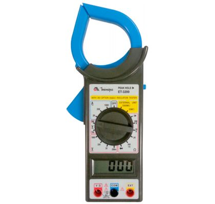 Alicate-Amperimetro-Minipa-ET-3200-CAT-II-1000V-ANT-FERRAMENTAS