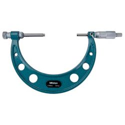 Micrometro-Externo-400-500mm-Mitutoyo-104-143a---Batentes-Intercambiaveis-