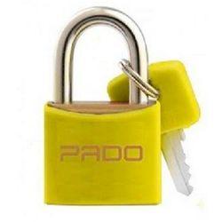 Cadeado-Amarelo-25mm-Pado-E-25
