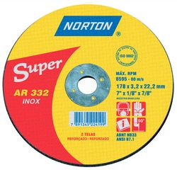 Disco-de-Corte-Norte-Super-Inox-AR332-ant-ferramentas