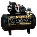 Compressor-Schulz-Bravos-CSL-15-BR-100L-3CV-Monofasico-127-220V