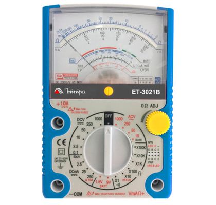 Multimetro-Analogico-Minipa-ET3021B---Tensao-DC-e-AC