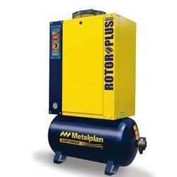 Compressor-de-Ar-Parafuso-Rotor-Plus-R15-Metalplan---15HP-C--Gabinete-Acustico