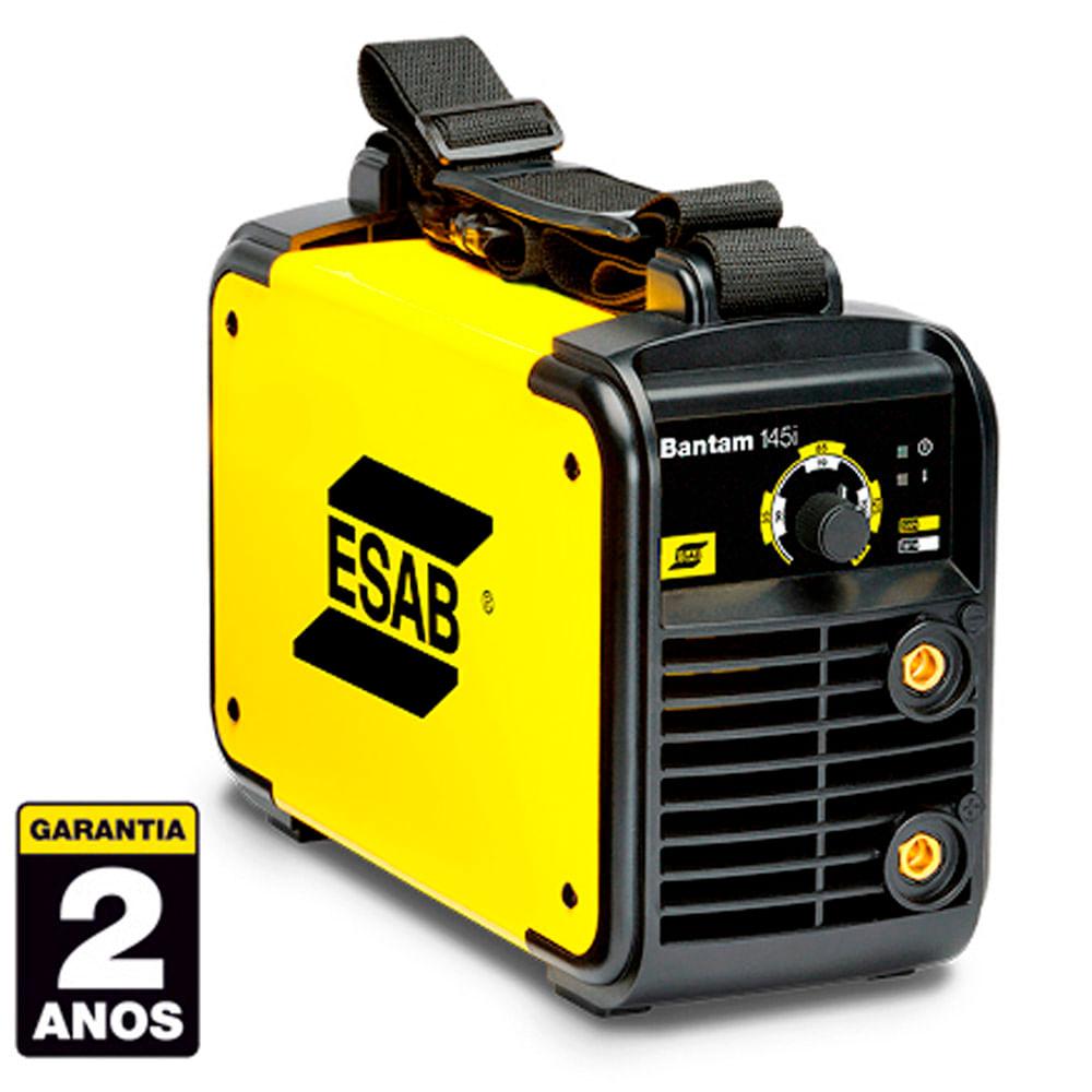 c0052cb1224cd Máquina Inversora de Solda Esab Bantam 145i - 110 220V - Monofásica -  0730451