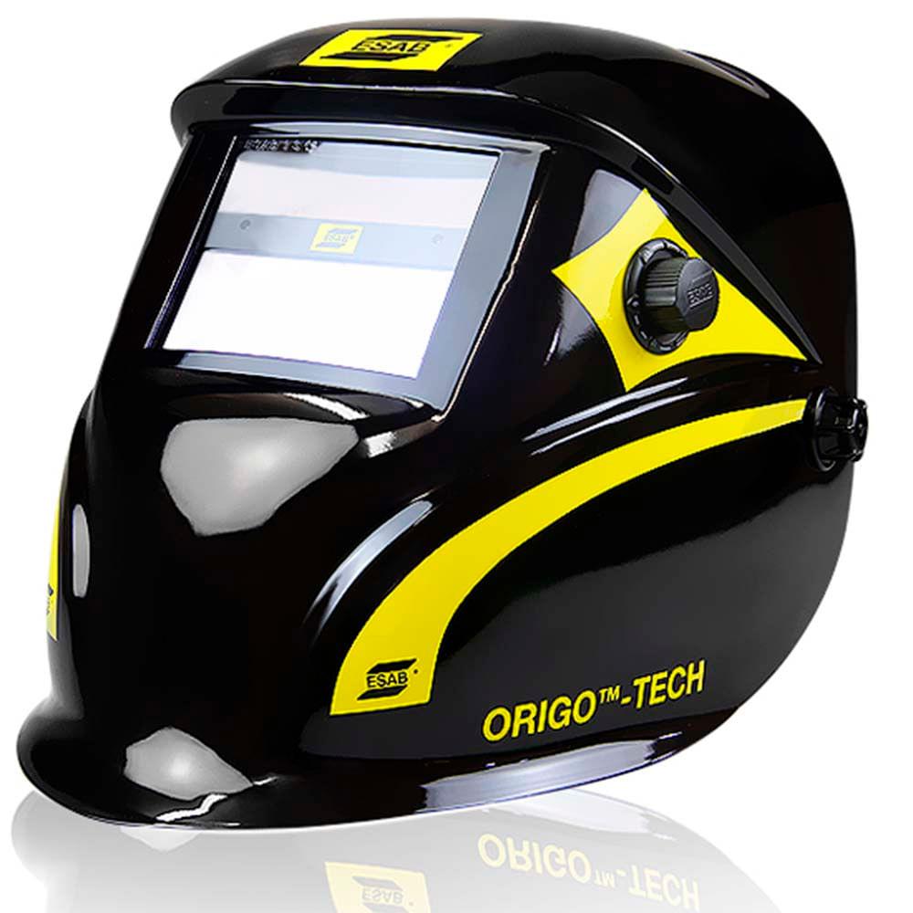 Máscara de Solda Esab Origo Tech Escurecimento Automático Preto ... 4c5e81c5c1