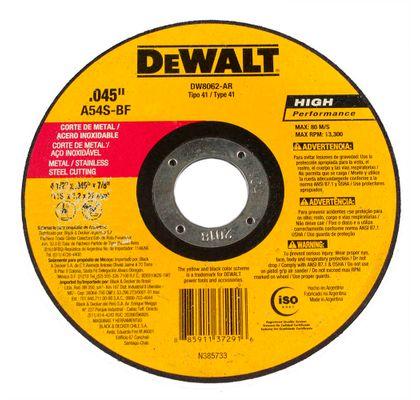 Disco-Abrasivo-Corte-Fino-Metal---Inox-Dewalt-DW8062