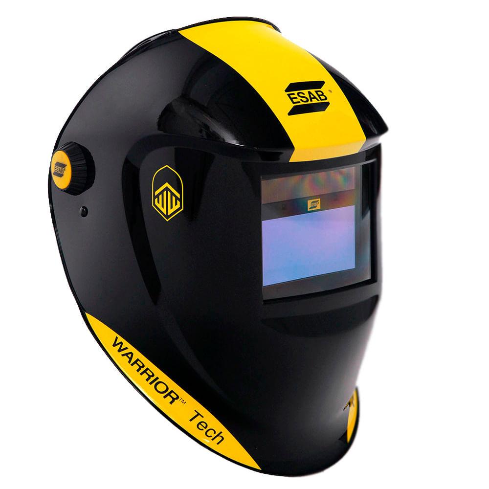 8d0a305fbd9c8 Máscara de Solda Esab Warrior Tech Preta - Escurecimento Automático -  0731219
