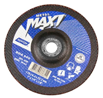 Disco-de-Desbaste-para-Metal-7--Norton-BDA-600-1778x64x2222MM