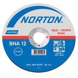 Disco-de-Corte-Inoxidavel-Norton-BNA12