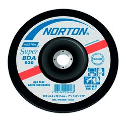 Disco-de-Desbaste-para-Inox-Norton-BDA630-ant-ferramentas