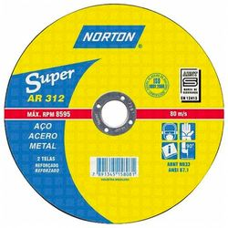 Disco-de-Corte-Norton-Super-Aco-AR312-ant-ferramentas