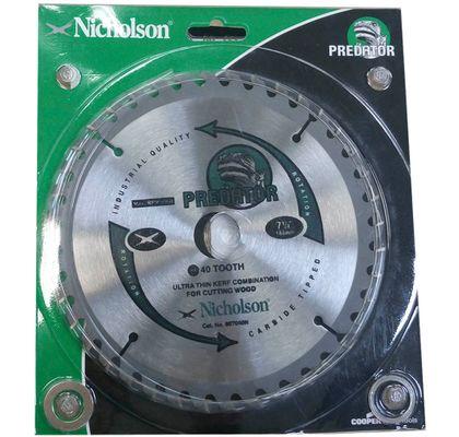 Disco-de-Corte-Serra-Circular-Widia-7.1-4--40-Dentes-Nicholson---para-Madeira