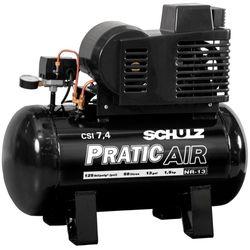 Compressor-Schulz-Pratic-Air-CSI-74-50-Mono-com-Rodas-110-220V
