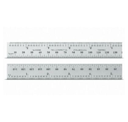 Escala de Aço com Graduação em Milimetro 300 x 25 x 1 df1f1f28068
