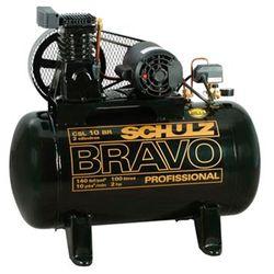 Compressor-Schulz-BRAVO-CSL10-BR-100L-Monofasico