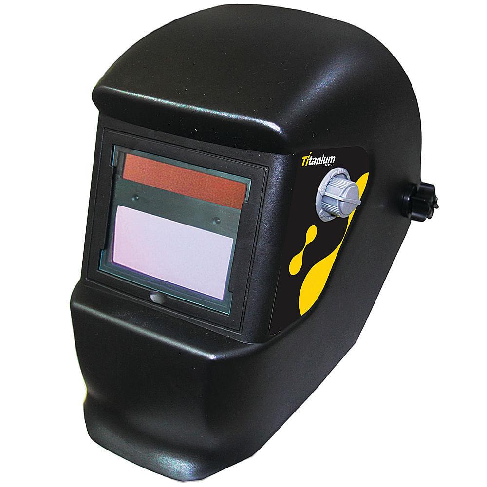 83865f7b312e6 Máscara de Solda Escurecimento Automático Titanium Tonalidade 9 a 13 - 05061