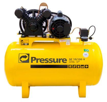 Compressor-de-Ar-Pressure-SE10-100L-Economic-2CV-Mono-SE10100VM---110-220V