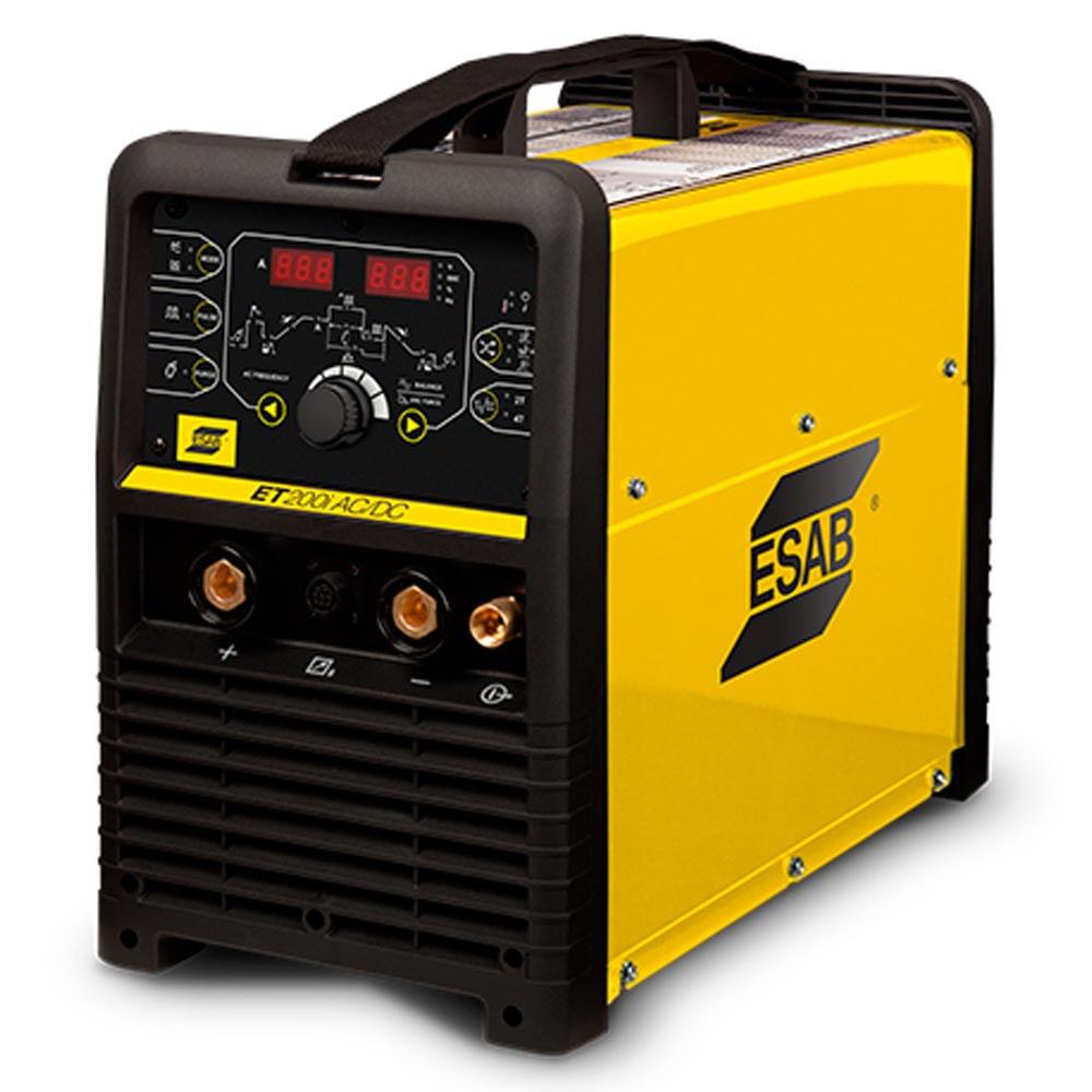 1c327ad9657df Máquina Inversora de Solda TIG e Eletrodo Esab ET200i - ANT ...