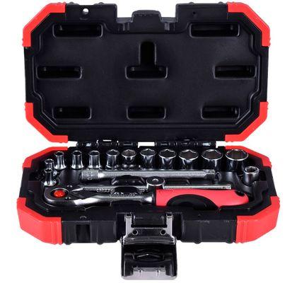 Jogo-de-Soquete-Sextavado-1-4-Gedore-Red-16-Pecas-3300050-ant-ferramentas