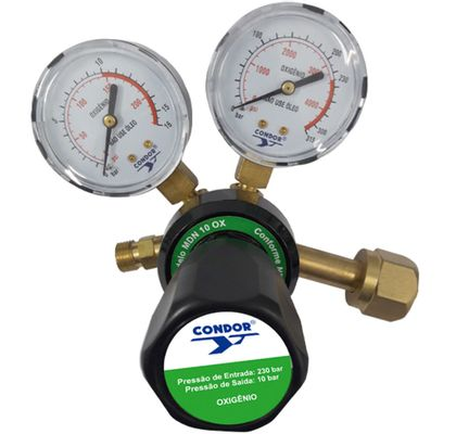 Regulador-Oxigenio-230-Bar-Condor-Esab-MDN-10-OX-ANT-Ferramentas