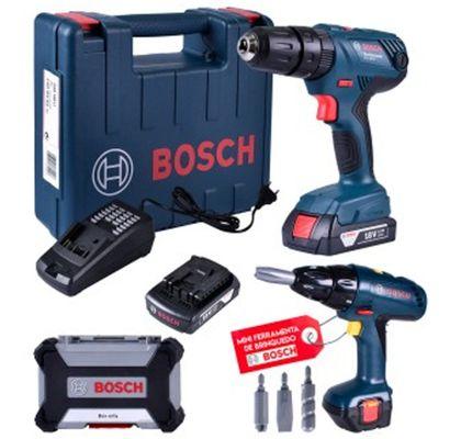 Kit-Parafusadeira-Furadeira-de-Impacto-Kit-Brocas-Bosch-GSB-180-LI-ant-ferramentas