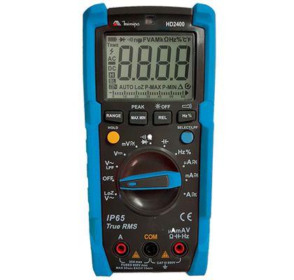 Multimetro-Digital-CAT-III-600V-Minipa-HD2400