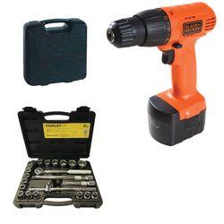 Parafusadeira-furadeira-black-decker-ant-ferramentas-cd121k-jogo-de-soquetes-stanley