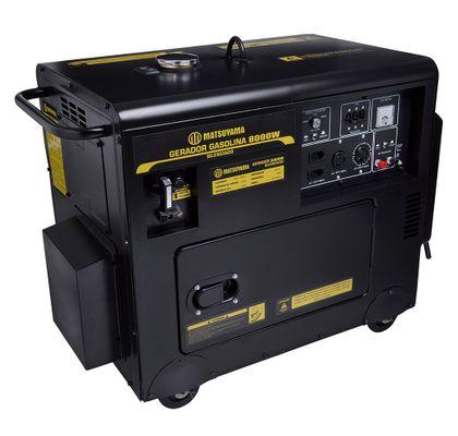 Gerador-de-Energia-Gasolina-Cabinado-Silenciado-16HP-8KVA-Motor-4-Tempos-Matsuyama-ant-ferramentas