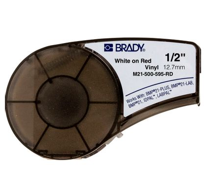 Brady-BMP21-Cartucho-Fita-Vinil-Vermelha-M21-750-595-RD-127X64MM--ANT-Ferramentas