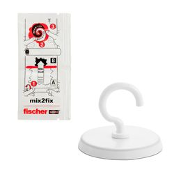 Gancho-Adesivo-10Kg-Fischer-547664-ANT-Ferramentas