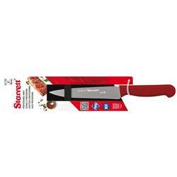 Faca-para-Carne-Lamina-Triangular-Larga-20cm-Vermelha-Starrett-KBKR301-8-ANT-Ferramentas