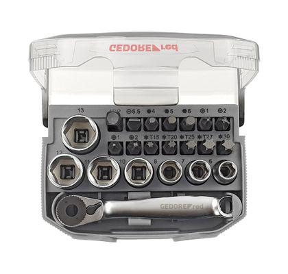 ogo-de-Soquete-Sextavado-1-4--6-a-13mm-Gedore-Red-3300026-ANT-Ferramentas