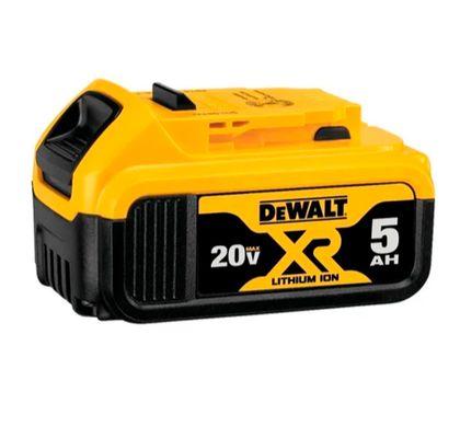 Bateria-de-Litio-20V-XR-5Ah-Dewalt-DCB205-B3-ANT-Ferramentas