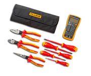 Kit-Multimetro-117---Jogo-de-Ferramentas-Isoladas-8-Pecas-Fluke-IB117K-ANT-Ferramentas