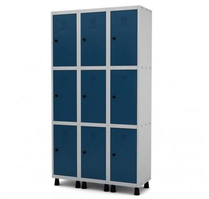 Armario-de-Aco-com-9-Portas-para-Cadeado-Pandin-GRP503-9-ANT-Ferramentas