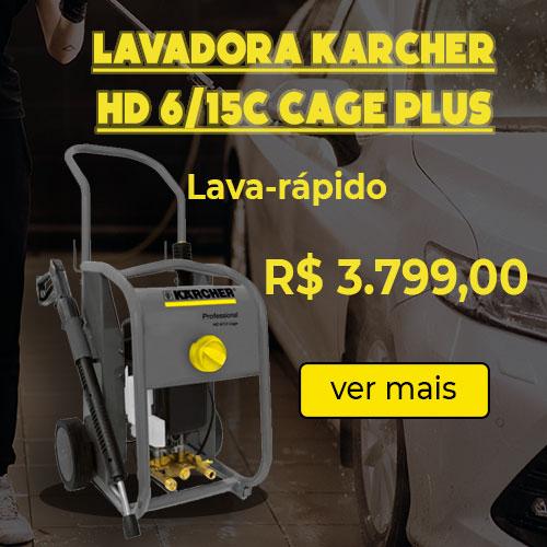 lavadora karcher hd6/15c cage plus ant ferramentas mobile